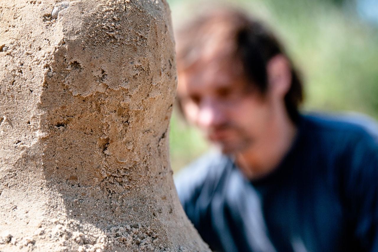 Residenz Sand-Skulptur